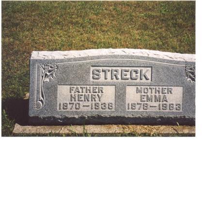 STRECK, HENRY & EMMA - Ida County, Iowa | HENRY & EMMA STRECK