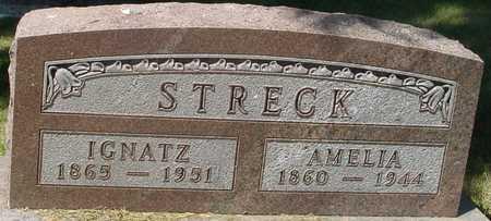 STRECK, IGNATZ & AMELIA - Ida County, Iowa | IGNATZ & AMELIA STRECK