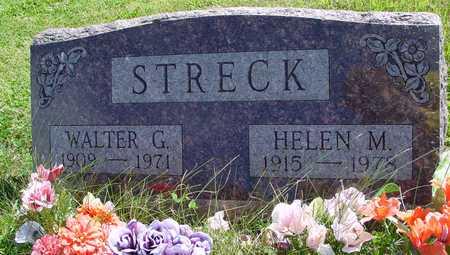 STRECK, WALTER & HELEN - Ida County, Iowa   WALTER & HELEN STRECK
