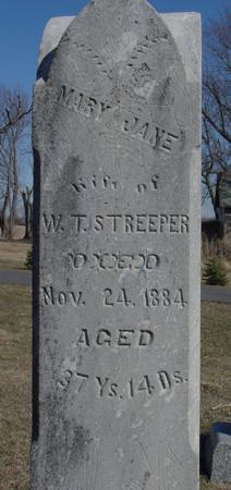 STREEPER, MARY JANE - Ida County, Iowa | MARY JANE STREEPER