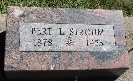 STROHM, BERT L. - Ida County, Iowa | BERT L. STROHM