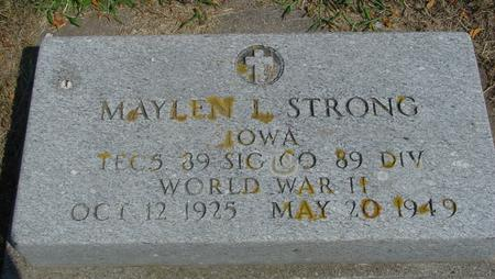 STRONG, MAYLEN L. - Ida County, Iowa | MAYLEN L. STRONG