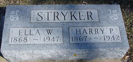 STRYKER, HARRY & ELLA - Ida County, Iowa | HARRY & ELLA STRYKER