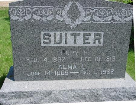 SUITER, HENRY  E., - Ida County, Iowa | HENRY  E., SUITER