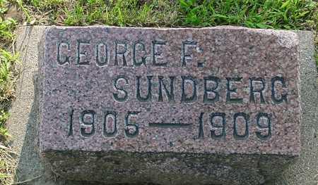 SUNDBERG, GEORGE F. - Ida County, Iowa | GEORGE F. SUNDBERG