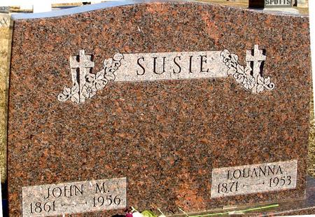 SUSIE, JOHN & LOUANNA - Ida County, Iowa | JOHN & LOUANNA SUSIE