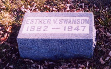 SWANSON, ESTHER V. - Ida County, Iowa | ESTHER V. SWANSON