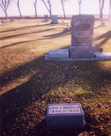 SWANSON, JOHN O. - Ida County, Iowa | JOHN O. SWANSON
