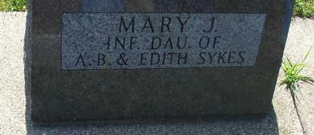 SYKES, MARY J. - Ida County, Iowa | MARY J. SYKES