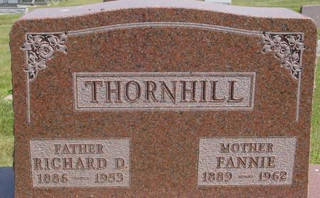THORNHILL, RICHARD & FANNIE - Ida County, Iowa | RICHARD & FANNIE THORNHILL