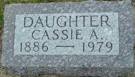 TAYLOR, CASSIE A. - Ida County, Iowa   CASSIE A. TAYLOR