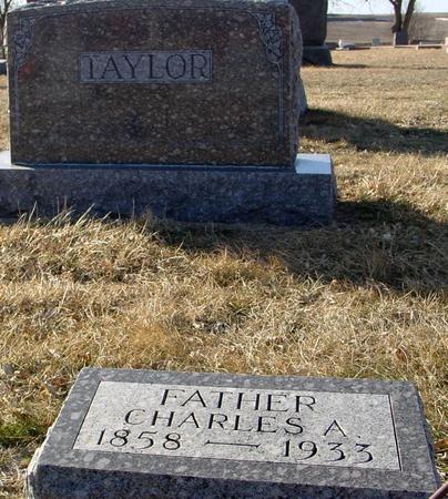 TAYLOR, CHARLES A. - Ida County, Iowa   CHARLES A. TAYLOR