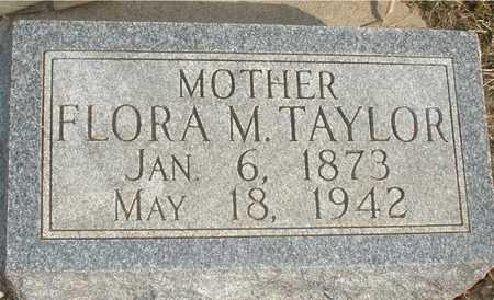 TAYLOR, FLORA M. - Ida County, Iowa | FLORA M. TAYLOR
