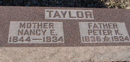TAYLOR, PETER & NANCY - Ida County, Iowa | PETER & NANCY TAYLOR