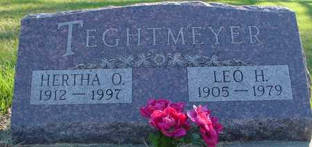 TEGHTMEYER, LEO & HERTHA - Ida County, Iowa | LEO & HERTHA TEGHTMEYER