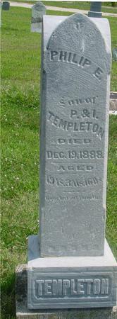 TEMPLETON, PHILIP  E. - Ida County, Iowa | PHILIP  E. TEMPLETON