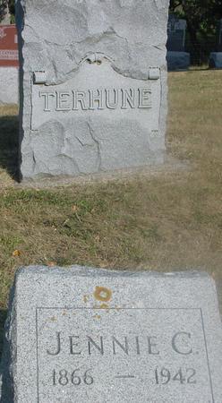 TERHUNE, JENNIE C. - Ida County, Iowa   JENNIE C. TERHUNE