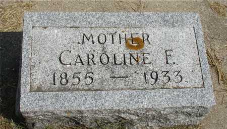 TERKELSEN, CAROLINE F. - Ida County, Iowa   CAROLINE F. TERKELSEN