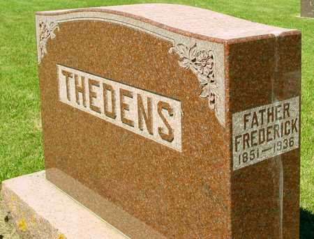 THEDENS, FREDERICK - Ida County, Iowa | FREDERICK THEDENS