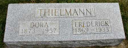 THIELMANN, FREDERICK & DORA - Ida County, Iowa | FREDERICK & DORA THIELMANN