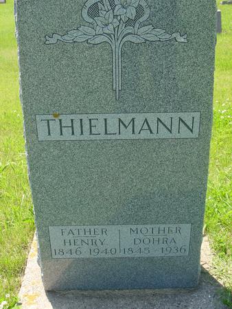 THIELMANN, HENRY - Ida County, Iowa | HENRY THIELMANN