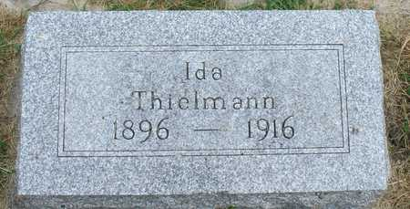 THIELMANN, IDA - Ida County, Iowa | IDA THIELMANN