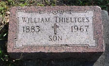 THIELTGES, WILLIAM - Ida County, Iowa   WILLIAM THIELTGES