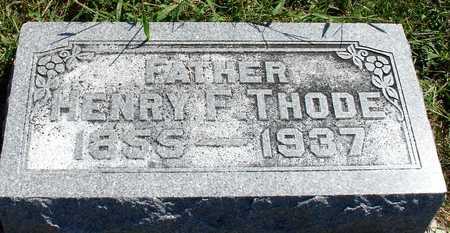 THODE, HENRY F. - Ida County, Iowa   HENRY F. THODE