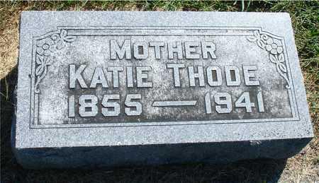 THODE, KATE - Ida County, Iowa   KATE THODE