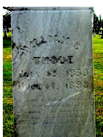 THODE, WILLIAM G. - Ida County, Iowa | WILLIAM G. THODE