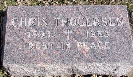 THOGERSEN, CHRIS - Ida County, Iowa | CHRIS THOGERSEN
