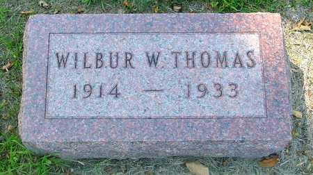 THOMAS, WILBUR W. - Ida County, Iowa   WILBUR W. THOMAS