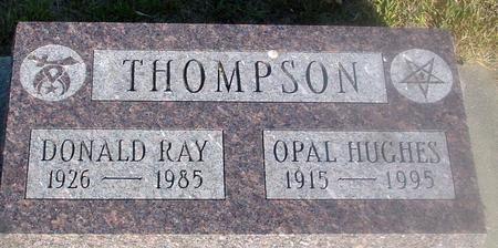 THOMPSON, DONALD & OPAL - Ida County, Iowa | DONALD & OPAL THOMPSON