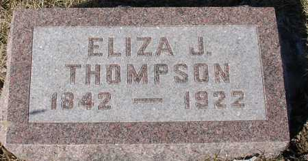 THOMPSON, ELIZA J. - Ida County, Iowa | ELIZA J. THOMPSON