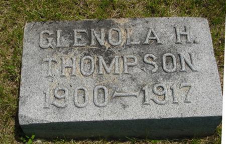 THOMPSON, GLENOLA - Ida County, Iowa   GLENOLA THOMPSON