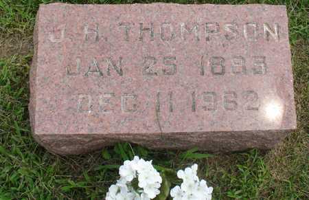 THOMPSON, J. H. - Ida County, Iowa   J. H. THOMPSON