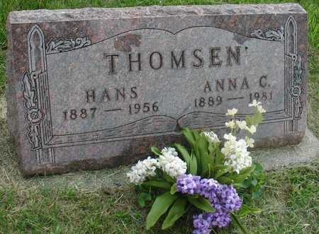 THOMSEN, HANS & ANNA - Ida County, Iowa | HANS & ANNA THOMSEN