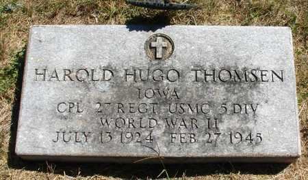 THOMSEN, HAROLD HUGO - Ida County, Iowa | HAROLD HUGO THOMSEN