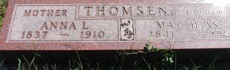 THOMSEN, MATTHIAS & ANNA - Ida County, Iowa | MATTHIAS & ANNA THOMSEN