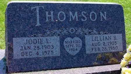 THOMSON, JODIE L. & LILLIAN B. - Ida County, Iowa | JODIE L. & LILLIAN B. THOMSON