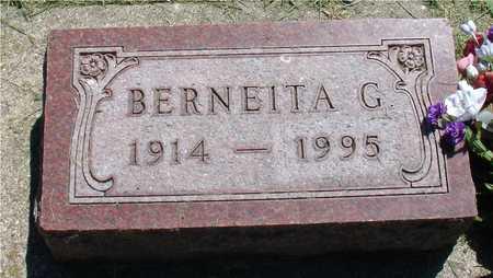 THORBORG, BERNEITA G. - Ida County, Iowa | BERNEITA G. THORBORG