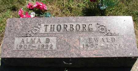 THORBORG, EWALD & ALMA D. - Ida County, Iowa | EWALD & ALMA D. THORBORG