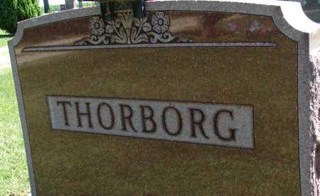 THORBORG, FAMILY MARKER - Ida County, Iowa   FAMILY MARKER THORBORG
