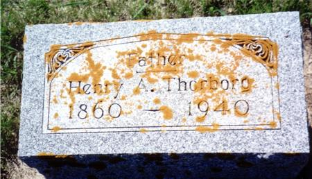 THORBORG, HENRY A. - Ida County, Iowa | HENRY A. THORBORG
