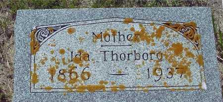 THORBORG, IDA - Ida County, Iowa   IDA THORBORG