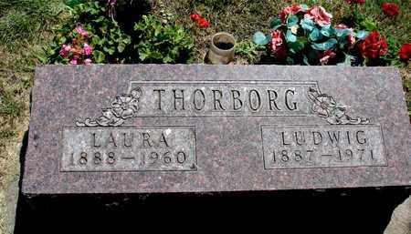 THORBORG, LUDWIG & LAURA - Ida County, Iowa   LUDWIG & LAURA THORBORG