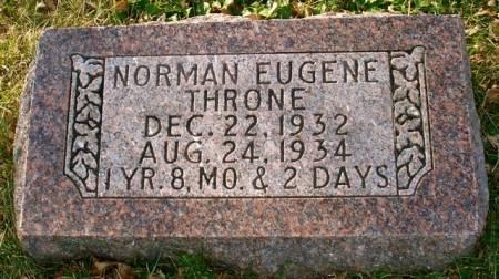 THRONE, NORMAN EUGENE - Ida County, Iowa | NORMAN EUGENE THRONE