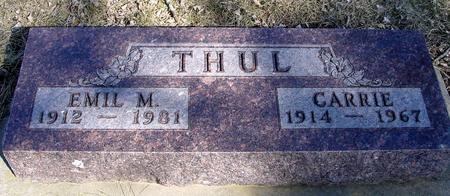 THUL, EMIL & CARRIE - Ida County, Iowa | EMIL & CARRIE THUL
