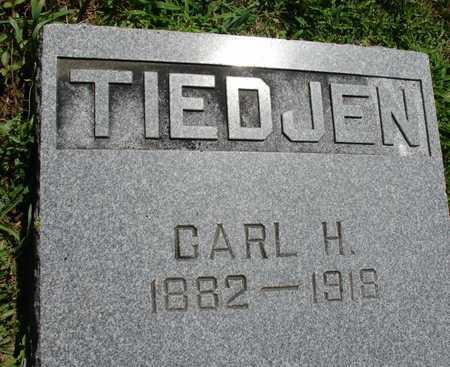 TIEDJEN, CARL H. - Ida County, Iowa | CARL H. TIEDJEN