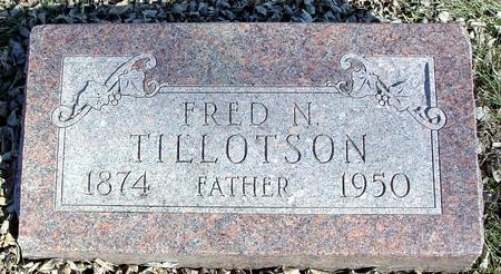 TILLOTSON, FRED N. - Ida County, Iowa | FRED N. TILLOTSON